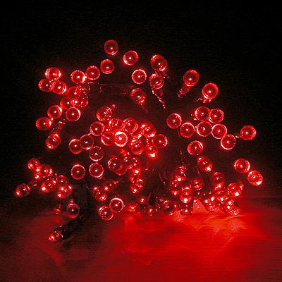 100 LED,7m PUNANE jõulutuled jõuluvalgustus jõuluvalgusti