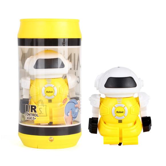 RC Robot 13cm Kollane
