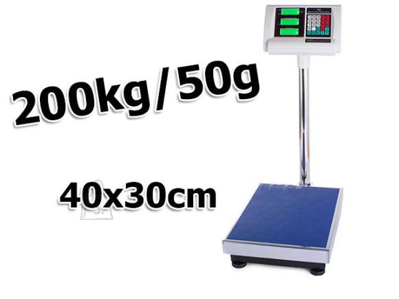 Elektroonilised kaupluskaalud 200kg/50g