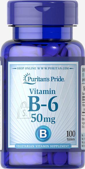 Vitamin B-6 50mg