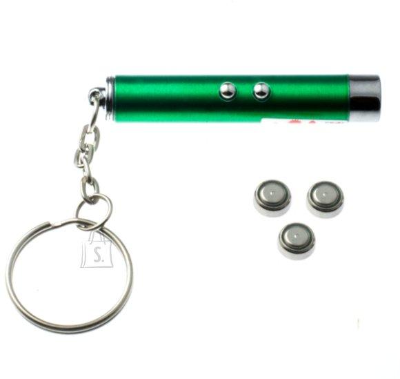 2in1 taskulamp ja laser