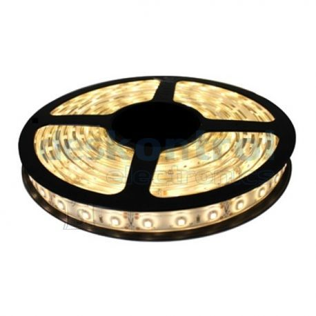LED riba IP67 3528 5m SOE VALGE KOMPLEKT