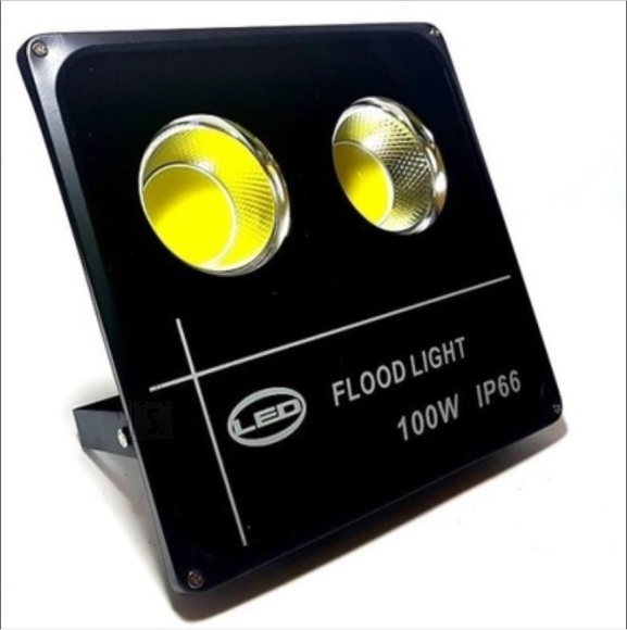 100w LED prozektor O-LED  SLIM REFLEKTOR COB KÜLM VALGE