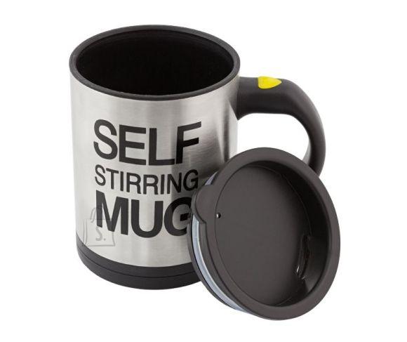 Põneva lahendusega ise jooki segav kruus muudab Su hommiku eriliseks!