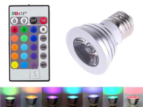 RGB LED-lamp E27