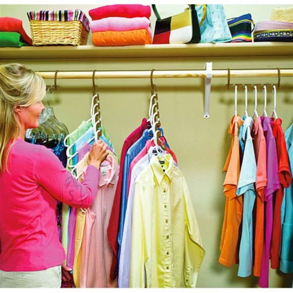 Wonder Hanger riidepuu — säästa ruumi oma riidekapis