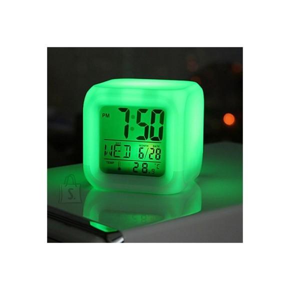 adb07527446 Kauni värvimuutva LED-valgusega 5-in-1 kuubik-äratuskell   SHOPPA.ee