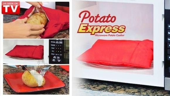 Valmista Potato Expressi abil kiirelt maitsvaid kartuleid
