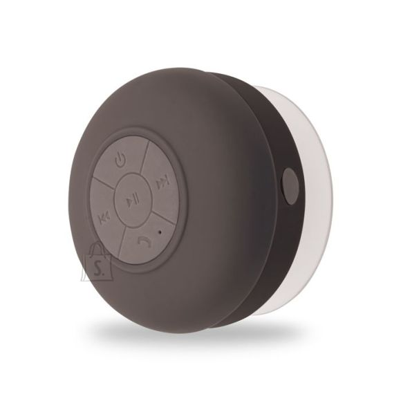Forever BS-330 Bluetooth 3.0 veekindel musta värvi traadita kõlar