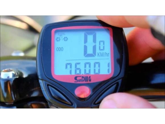 Jalgratta arvuti LCD speedometer