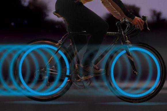 Eredad LED tuled jalgrattale Roheline