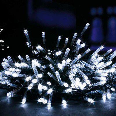 Jõuluvalgustus 50 LED Külm Valge