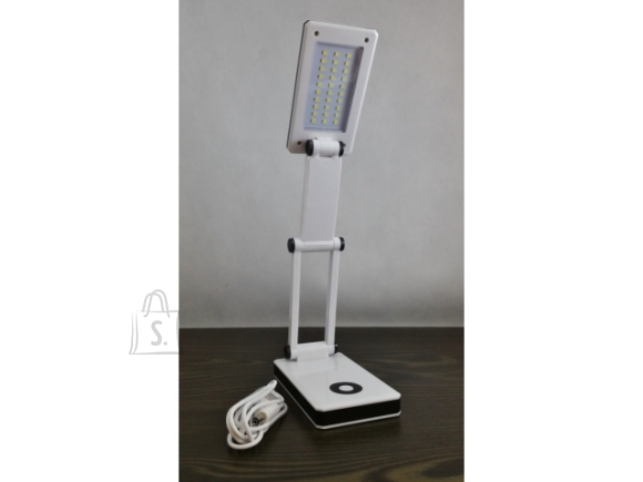 LED laualamp patarei toitel