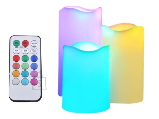 LED küünlad RGB 3tk komplektis PULDIGA