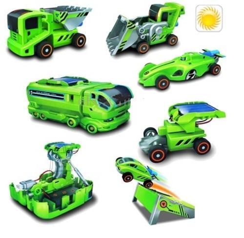 DIY 7in1 päikeseenergia autode konstruktor