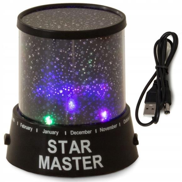 Öine tähistaeva projektor STAR MASTER + USB juhe