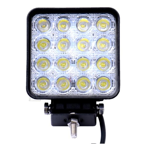 16 LED - lisa, töötuli autole kandiline 48W