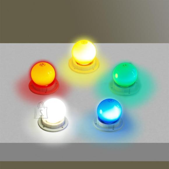 LED lamp E27 0,5W Roheline