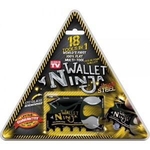 Ninja Wallet Tool Set 18in1