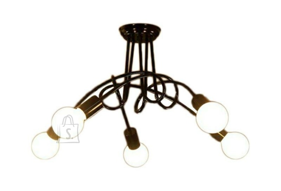 Moodne, kaasaegne valgusti 5 lambipesaga