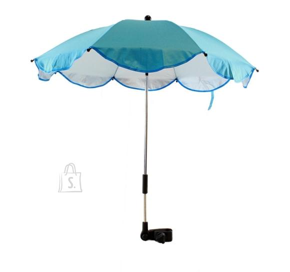Kokkupandav sinine lastekäru vihmavari