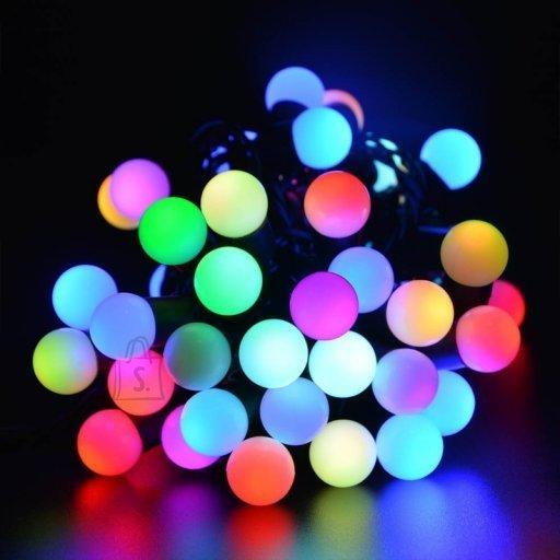 Jõulutuled pallidega 100LED RGB VÄRVILINE 11m
