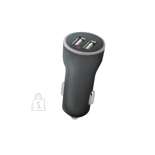 USB 5V autolaadija 2 x 1,4A