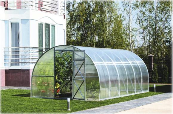 Kasvuhoone Kolmene 12 m²