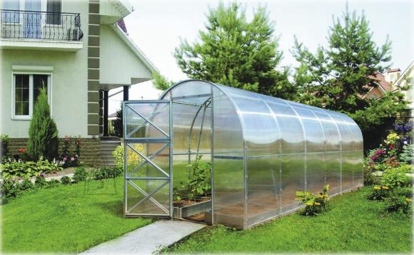 Kasvuhoone Kahene 16 m²