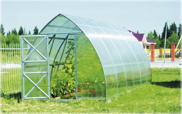 Kasvuhoone Nooleke 20.8 m²