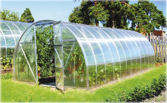 Kasvuhoone Suvila 30 m²
