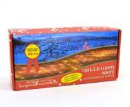 180 valge LED tulega kett - 36 meetrit