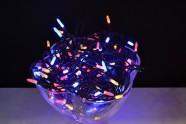 100 LED tulega kett värviline