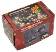 40 soevalge LED tuledega kett, patareitoitega