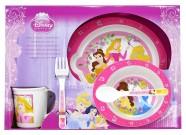 Laste sööginõude komplekt Printsess