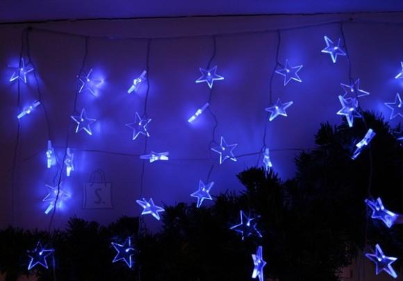 72 sinise LED tulega tähekest
