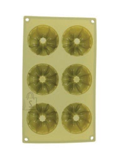 Renberg küpsetusvorm silikoonist 6-le muffinile