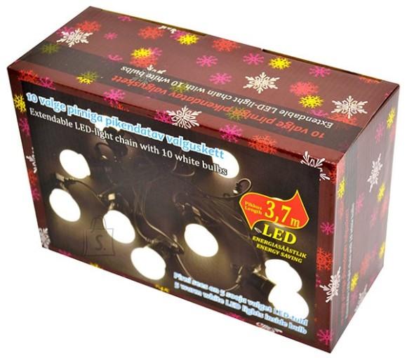 Soe valgete LED-tuledega valguskett