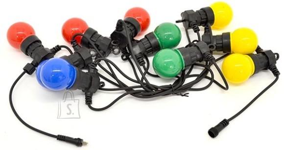Värviliste LED-tuledega pirnid