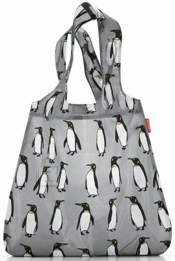 Reisenthel kokkupandav hall ostukott Collection pingviinidega