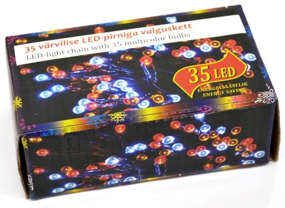 35 LED tulega kett mitmevärviline