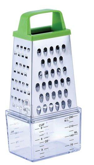 Renberg köögiriiv 4-nurkne mõõdik-konteineriga roheline