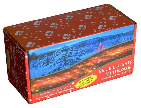 96 LED-tulega küünlakett