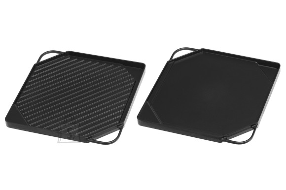 Mustang grillplaat 2-poolne 27x27x2 cm