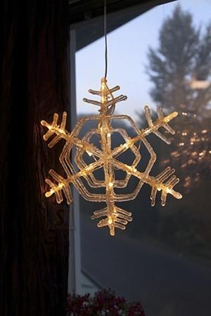 Lumehelves LED-tuledega