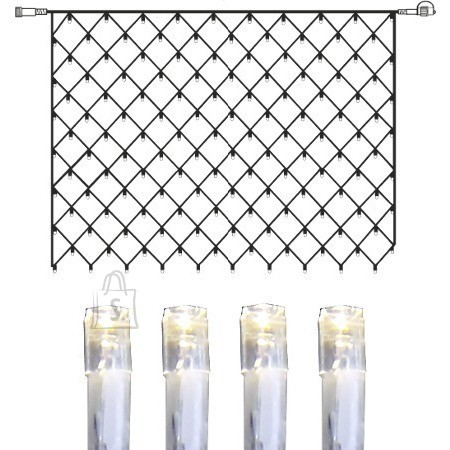 Valgusvõrk System Decor 2x1.5m 100 LED-tulega