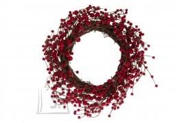 Punastest marjadest pärg ø38 cm