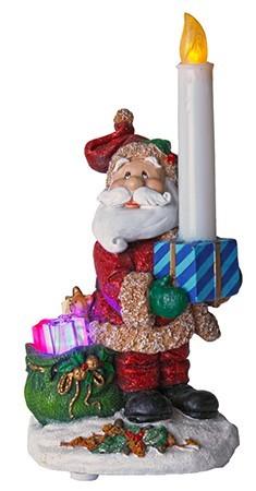 Jõuluvana küünlaga