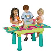 Keter tegevuslaud lastele liiva ja veega mängimiseks