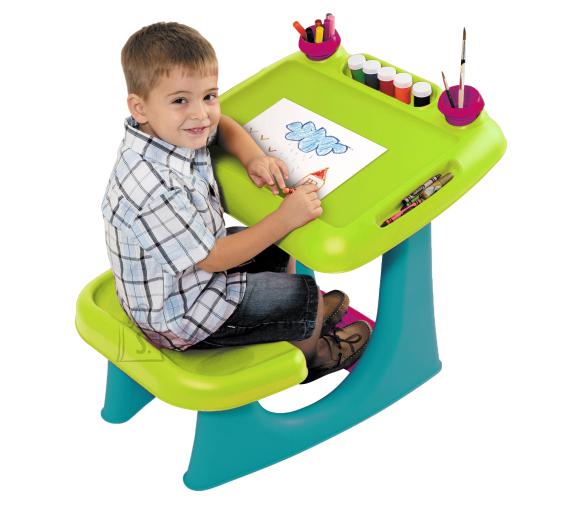 Keter tegevuslaud lastele SIT & DRAW, heleroheline/türkiissinine
